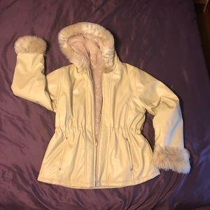 Girl's Hooded coat